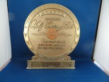 Vintage Award From Ball Brand Footwear 50 Years LC Scothorn Store Burlington KY