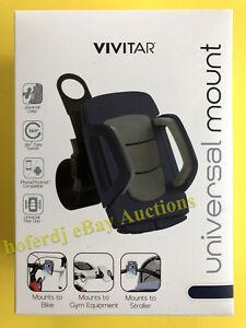Vivitar Smartphone Phone Bike Golf Stroller Gym Equipment Mount Holder Fitness