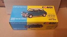 Vanguards VA02538 AUSTIN MINI MK1 COOPER S IN SURF BLUE. 60 YEARS OF CORGI