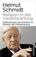Religion in der Verantwortung  ~~  Helmut Schmidt  ~~  gebunden
