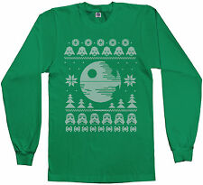 Dark Side of the Force Star Wars Ugly Sweater Men's Long Sleeve T-shirt