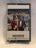 Christmas at Liberace 's 1977 cbs records cassette tape