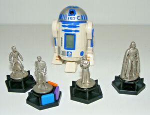 Star Wars R2-D2 Classic Trilogy Trivial Pursuit Replacements Tokens 1997