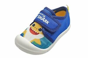Baby Shark Boys Canvas Shoes in Blue