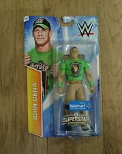 WWE BOXED JOHN CENA WALMART EXCLUSIVE ENTRANCES MATTEL WRESTLING FIGURE