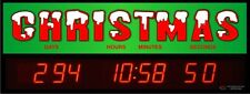 Digital LED Countdown Event Timer - Countdown to Christmas - ETCD100-15