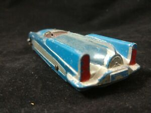 Vintage Large Metal TOOTSIETOY 1969? Blue Convertible Made in USA