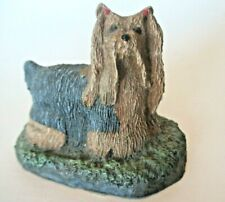 Yorkshire Terrier Marsha Richardson Cold Bronze Kennel Collection Yorkie Dog