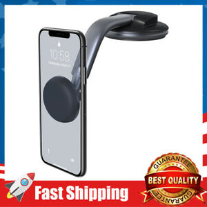 Car Phone Mount Dashboard Magnetic 360 Degree Rotation Holder for iPhone