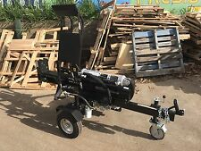HUGE 50Ton LOG OR WOOD SPLITTER Will Split Redgum **Inc Hydraulic Lift Table!**