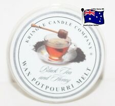 KRINGLE CANDLE ** Black Tea & Honey ** SCENTED BREAKABLE TART MELT SON OF YANKEE