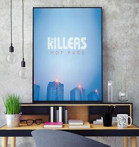 The Killers Hot Fuss Album Cover Poster Professional Grade Gloss Photo Print HD