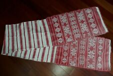 Antique Russian Belarus Towel Hutsul folk ethnic embroidered linen old 290 cm
