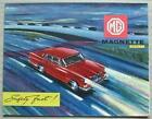 MG MAGNETTE MARK III Car Sales Brochure 1960-61 #H&E 6096