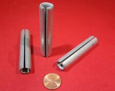 """Zinc Plate Slotted Roll Spring Pin, 1/2"""" Dia x 2 1/2"""" Length, Pkg of 20 pcs"""