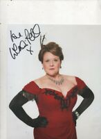 10 x 8  colour photo , hand signed   WENDI PETERS  - AFTAL COA  -  HOT