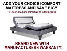 Brand New Serta iComfort Queen Motion Custom II Adjustable Bed Base Foundation