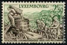 Luxembourg 1958 SG#644 Moselle Wine Industry Used #D67985