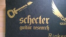 Schecter Research Decal Logo Sticker for Guitar Hard Case, Amp Cab, Wall Art,