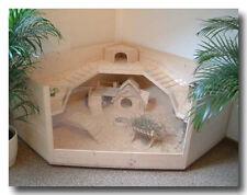 Bauanleitung LUXUS-KÄFIG für Meerschweinchen/Kaninchen aus Holz und Glas
