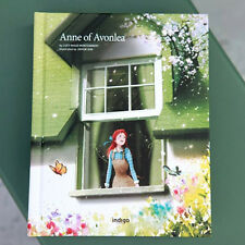Anne of Avonlea by Lucy Montgomery Unique Illustration Hard Cover English Book