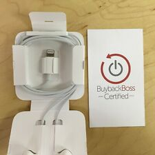 Apple EarPods Lightning Headphones - iPhone 7 and Up - OEM Authentic - OPEN BOX!