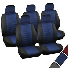5 x Auto Sitzbezüge Einzelbezug für PKW/VAN ohne Seitenairbag Blau 7232-5