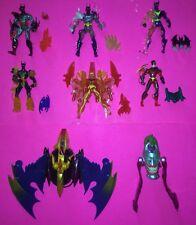 Lot of 8 Batman Beyond Batlink Action Figures (1999 Hasbro)