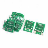 10Pcs SMD SMT FPC-10P 0.5mm 1mm to DIP10 2.54mm 2 Sides PCB Board Plate Adapter