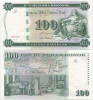 Sweden 100 Kronor 2005 (P-68) UNC, commemorative w/Folder Tumba bruk 250 years