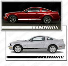 Ford Mustang Side Rocker Panel Strobe Stripes Decals 2005 2006 2007 2008 2009