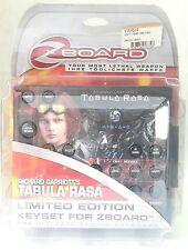 Zboard Gioco Tabula Rasa PC Gaming Keyboard Tastiera Limited Edition Keyset Rara
