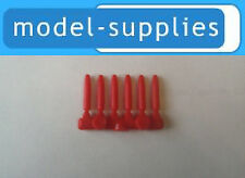 Dinky 600 series reproduction red plastic shells set of 6