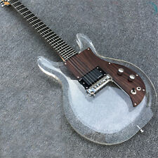 Dan acrylic electric guitar ,crystal electric guitar Quality assurance