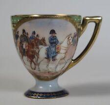"""Il Conte Thun Tazza di porcellana raffigurante Napoleone Bonaparte'S sono TRAITE DE MOSCOU"""""""