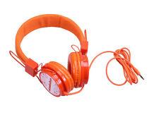 Nickelodeon NIC-1773 Kopfhörer für Kinder orange Kinderkopfhörer Headphones Kids