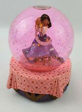 Disney Hunchback of Notre Dame Esmeralda Musical Globe Pink