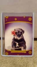 New listing Nintendogs stand up card 12 of 20 Miniature Schnauzer