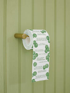 TALKING TABLES CHRISTMAS Botanical Sprout Toilet Roll