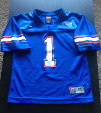 FLORIDA GATORS  NCAA  #  1  FOOTBALL JERSEY  BY  TEAM   NIKE YOUTH SIZE  7