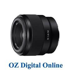 New Sony FE 50mm F1.8 SEL50F18F E-Mount Full Frame Lens 1 Year Au Wty