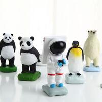 FX- Panda Astronaut Penguin Desktop Mobile Phone Stand Holder Mount Bracket Grac