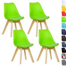 4 x Esszimmerstühle Esszimmerstuhl Bürostuhl Küchenstuhl Holz Grün BH29gn-4