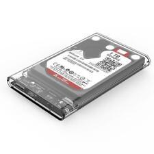 HDD Case USB 3.0 to SATA Box Tool Free Enclosure for SSD External Hard Drive EJ