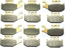 12 Front Rear Brake Pads Fit Can Am Outlander 800 Bombardier ATV 2006 2007 2008