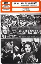 FICHE CINEMA : LE VILLAGE DES DAMNES  Sanders,Shelley 1960 Village Of The Damned