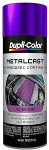 Duplicolor MC204 Metalcast Purple Anodized Paint Coating 11oz Aerosol Spray