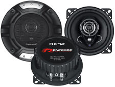 Renegade RX42 10cm 2-Wege Koax PKW Lautsprecher 120 Watt Auto Boxen Set 100mm