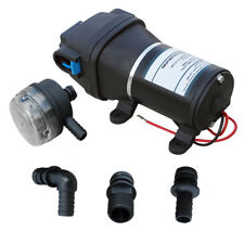 12.5 L/M 12V Pressure Electric Diaphragm Water Pump Transfer Caravan