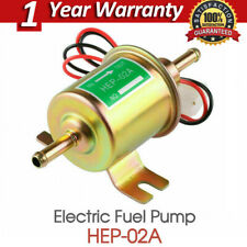 12V 2.5-4 PSI Gas Diesel Inline Low Pressure Electric Fuel Pump HEP02A Universal